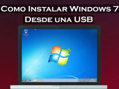 como instalar windows 7 desde una usb