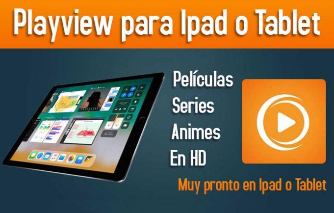 playview para ipad o tablet