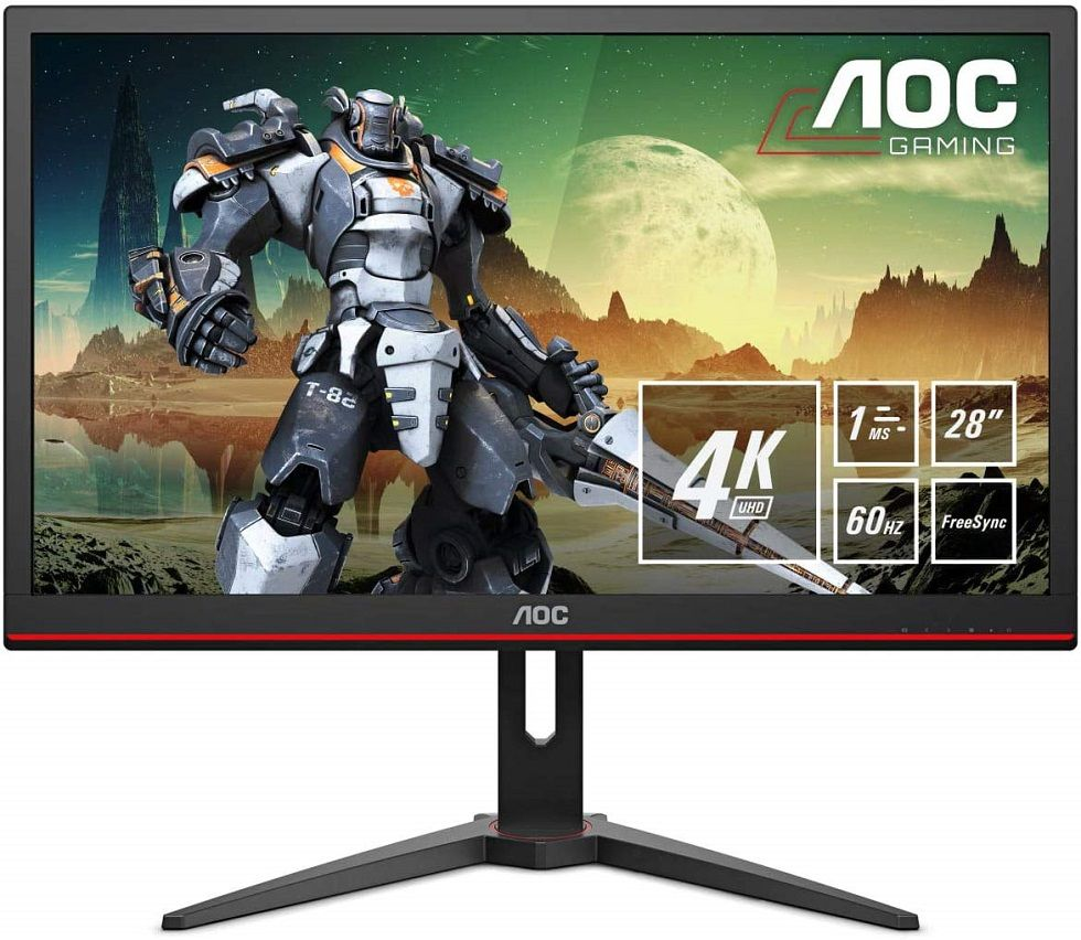 monitores 4K gaming HDR baratos