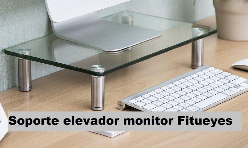 Soporte elevador monitor