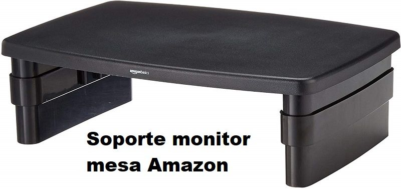 soporte monitor mesa Amazon